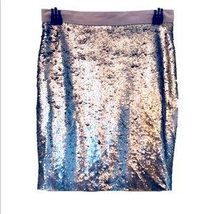 Sequined Maison Jules mermaid skirt